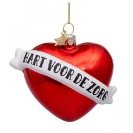Kerstbal Hart Voor De Zorg
