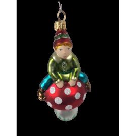 Kerstbal Kabouter Spillebeen