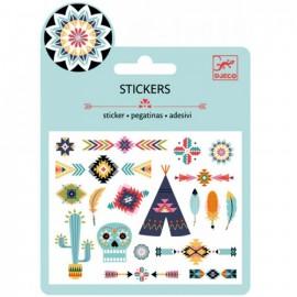 Djeco Stickers Western