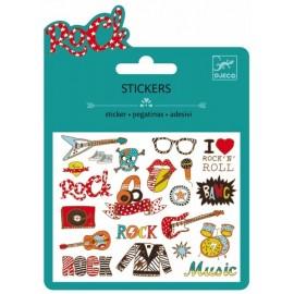 Djeco Stickers Pop en Rock