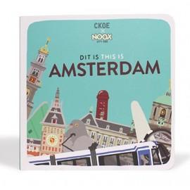 Kartonnen boekje Amsterdam