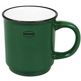 Cabanaz Stapelbare Mok Donker-groen