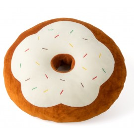 Kussen Donut Bruin