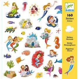 Djeco Knutselpakket Stickers Zeemeerminnen