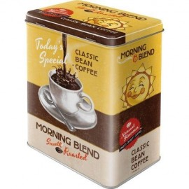 Retro Blik Morning Blend Classic Bean Coffee