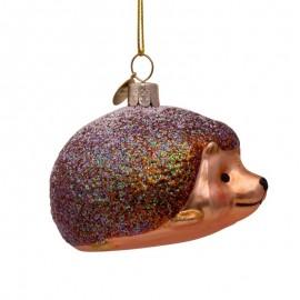 Kerstbal Egel Bruin