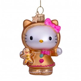 Kerstbal Hello Kitty Peperkoek