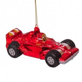 Kerstbal Raceauto
