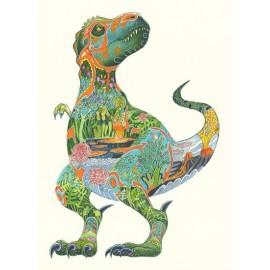 DM Wenskaart Tyrannosaurus rex