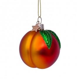 Kerstbal Perzik Oranje