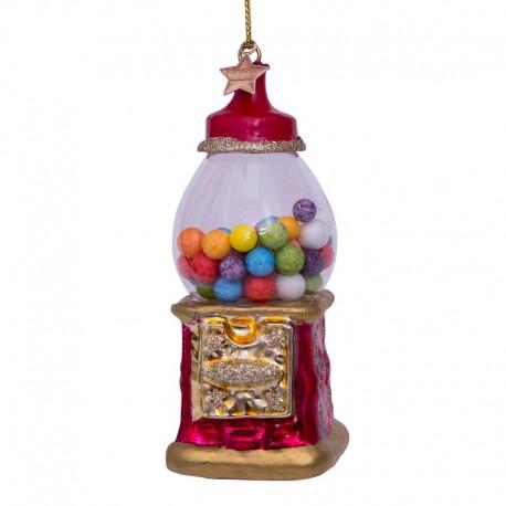 Kerstbal Multicolor Kauwgomballen Automaat
