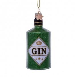 Kerstbal Fles Gin Groen