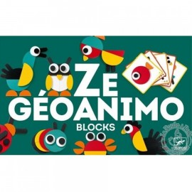Djeco Ze Geoanimo Blocks