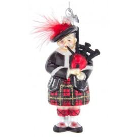 Kerstbal Schotse Doedelzakspeler