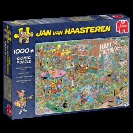 Kinderfeestje Jan van Haasteren 1000st.