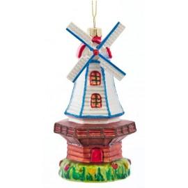 Kerstbal Windmolen