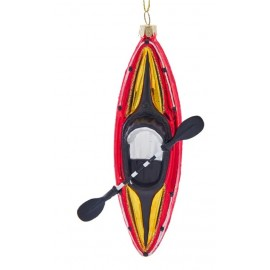 Kerstbal Kayak