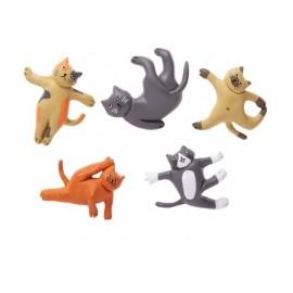 Cat Yoga Magneten