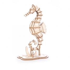 Zeepaardje Houten 3D Puzzel
