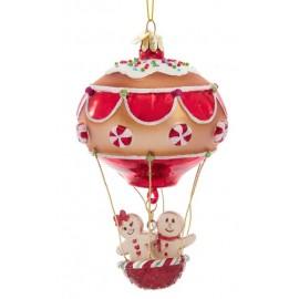 Kerstbal Hete Luchtballon Peperkoek