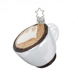 Kerstbal Cappuccino