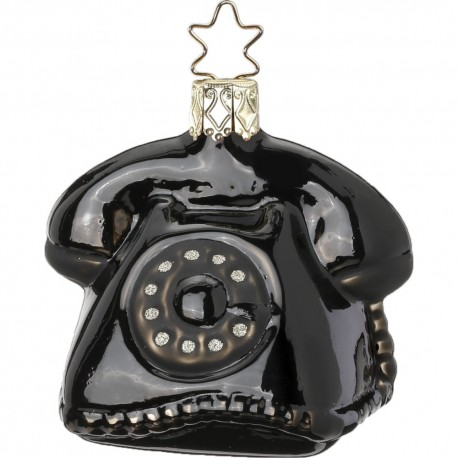 Kerstbal Retro Telefoon