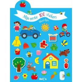 Mijn eerste 100 Stickers Woordjes 2+