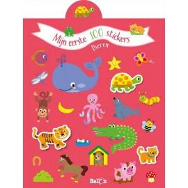 Mijn eerste 100 stickers - Dieren. 2+