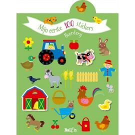Mijn eerste 100 stickers - Boerderij. 2+