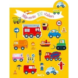Mijn eerste 100 stickers - Voertuigen. 2+