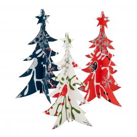 Papieren Kerstversiering 3D Kerstboom Staand