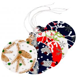 Papieren Kerstversiering Hangende Kerstbal