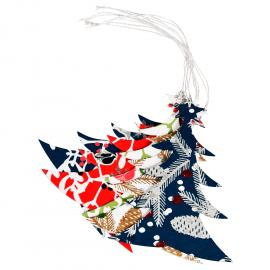 Papieren Kerstversiering Hangende Kerstboom