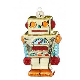 Kerstbal Robot Multicolor 3