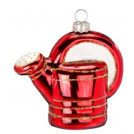 Kerstbal Gieter Rood