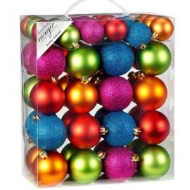 Set van 50 Onbreekbare Kerstballen