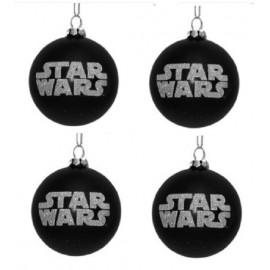 Set van 4 Star Wars Kerstballen