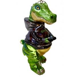 Kerstbal Dino Gamer