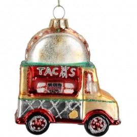 Kerstbal Taco Truck