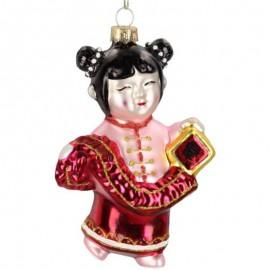 Kerstbal Chinees Meisje