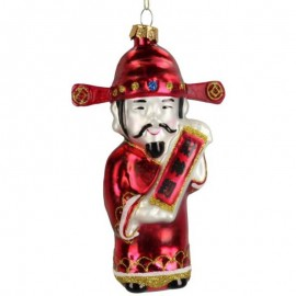 Kerstbal Chinese Man