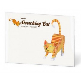 Pukaca Stretching Cat