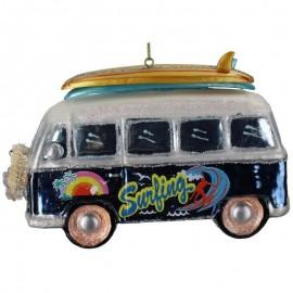 Kerstbal Hippie Surfbusje