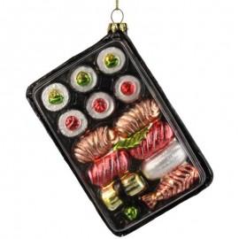 Kerstbal Sushi Box