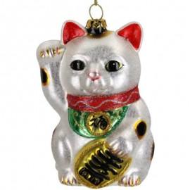 Kerstbal Lucky Cat
