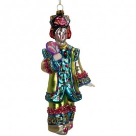 Kerstbal Chinese Dame 3