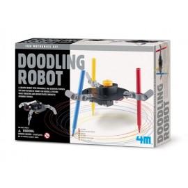 Bouwpakket Teken Doodle Robot