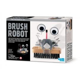 Bouwpakket Borstel Robot 4M Kidz Lab