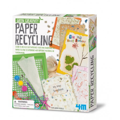 Papier Recycle set