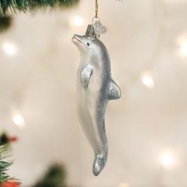 Kerstbal Spelende Dolfijn